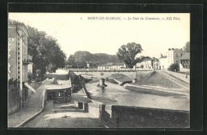 AK Mont-de-Marsan, Le Pont du Commerce