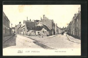 AK Pithiviers, Place des Bornes