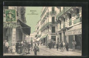 AK Beziers, Rue de la Republique