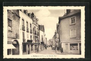 AK Redon, La Grande Rue