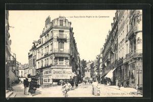 AK Blois, Les Rues Denis-Papin et du Commerce