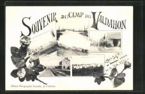 AK Camp du Valdahon, versch. Ansichten