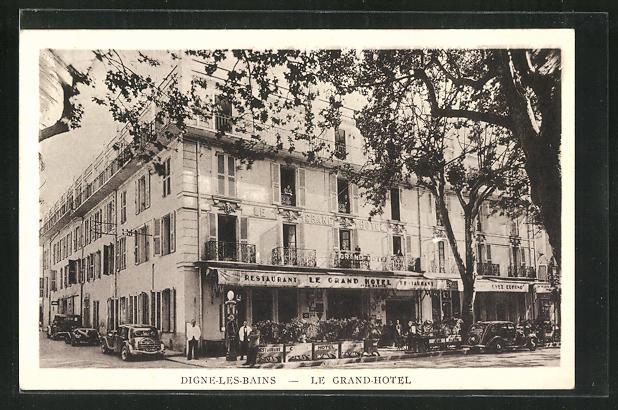 AK Digne-Les-Bains, Le Grand Hotel 0