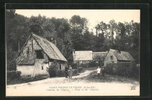 AK Saint-Pierre-Le-Viger, Chemin de l'Eglise