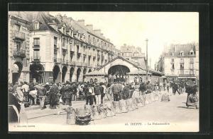 AK Dieppe, La Poissonniere