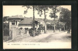 AK Plombieres, La Route du Val d'Ajel