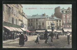 AK Cherbourg, Place de la Fontaine