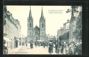 AK La Haye-du-Puits, L'Eglise Saint Jean