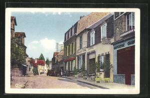 AK Saint-Jean-le-Thomas, Rue de la Mer