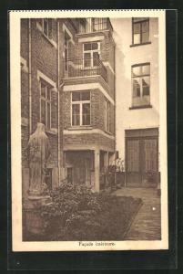 AK Bruxelles, Institut des Soers du Bon et Perpetuel Secours A. S. B. L., 176, Chaussee de Mons, Facade interieure