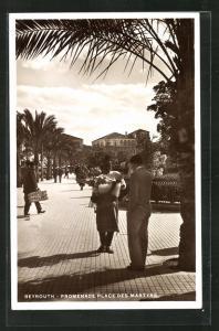 AK Beyrouth, Promenade Place des Martyrs