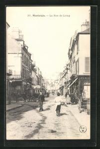 AK Montargis, La Rue de Loing, Strassenpartie