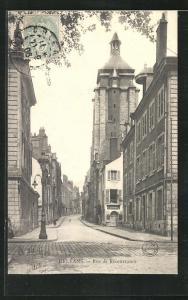 AK Orleans, Rue de Recouvrance, Strassenpartie