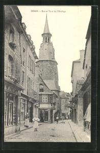 AK Dinan, Rue et Rour de l`Horloge