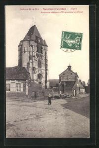 AK Nouvion-et-Catillon, L`Eglise, Ancienne residence d`Enguerrand de Coucy