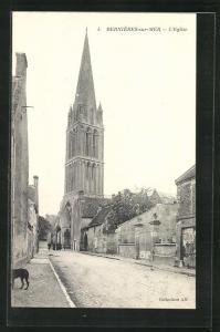 AK Bernieres-sur-Mer, L`Eglise