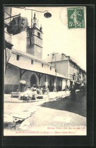 AK Barcelonnette, Place Saint-Pierre