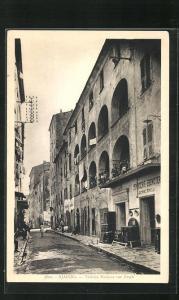 AK Ajaccio, Vieilles Maisons rue Fesch