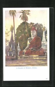 AK Burma, A Figure of Buddha