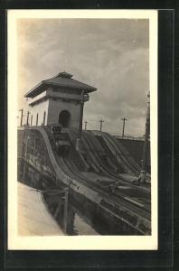 AK Panama Canal, Mule Train at work