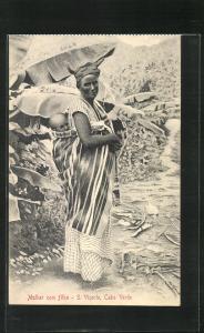 AK Sao Vicente / Cabo Verde, Mulher com filho