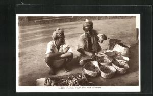 AK Aden, Native Fruit and nut Vendors