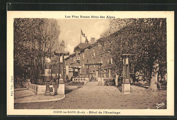 AK Digne-les-Bains, Hotel de l'Ermitage 0