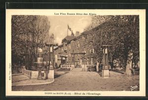 AK Digne-les-Bains, Hotel de l'Ermitage