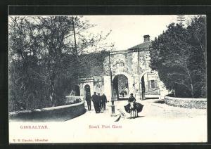 AK Gibraltar, South Port Gates