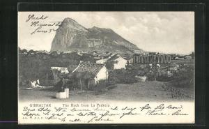 AK Gibraltar, The Rock from La Pedrera