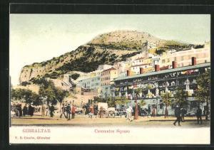 AK Gibraltar, Casemates Square