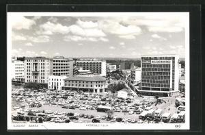 AK Nairobi, Hochhäuser säumen einen Platz