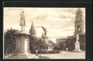 AK Durban, Town Gardens, Statues