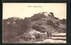 AK Azazga, Habitations Kabyles