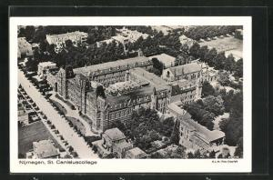 AK Nijmegen, St. Canisiuscollege, Luftbild