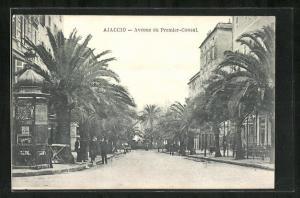 AK Ajaccio, Avenue du Premier-Consul.