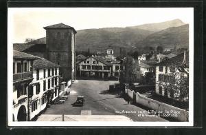 AK Ascain, l'Eglise , la Place et la Rhune