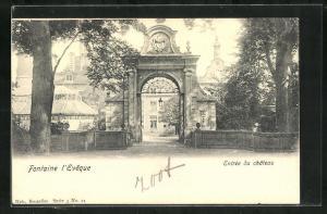 AK Fontaine l'Eveque, Entree du Chateau