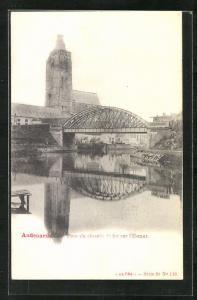 AK Audenarde, Pont du Chemin de fer sur l'Esaut