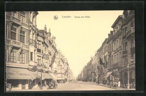AK Louvain, Avenue des Allies