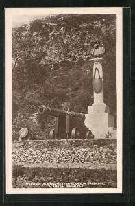 AK Gibraltar, Wellington Monument in Alameda Gardens