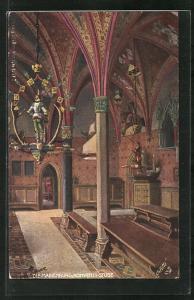 AK Marienburg / Malbork, Konventsstube in der Burg