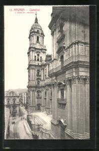 AK Malaga, Catedral, Ansicht der Kathedrale