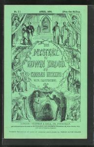 AK Schriftsteller Charles Dickens, Szenen aus The Mystery of Edwin Drood