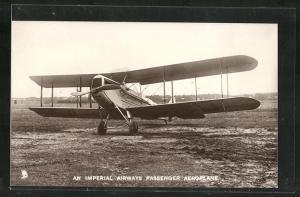 AK An Imperial Airways Passenger Aeroplane