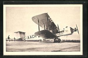 AK Imperial Airways Avion Argosy 19-Seater Aeroplane