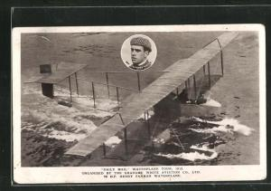 AK Daily Mail Wasserflugzeug Tour 1912, Organisiert von der Grahame White Aviation Co. Ltd.