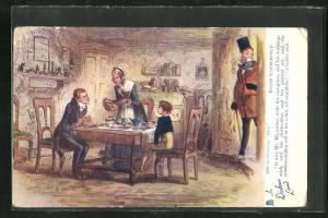 AK In Dickens Land, It was Mr. Micawber, with his eye-glass.., David Copperfield, Roman