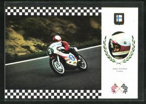 AK No. 12 Serie Gran Prix, Jarno Saarinen auf Yamaha 60 CV Motorrad