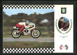 AK No. 17 Serie Gran Prix, Kent Anderson auf Yamaha 42 CV